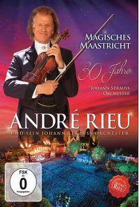 Cover André Rieu und sein Johann Strauss Orchester - Magisches Maastricht - 30 Jahre Johann Strauss Orchester [DVD]